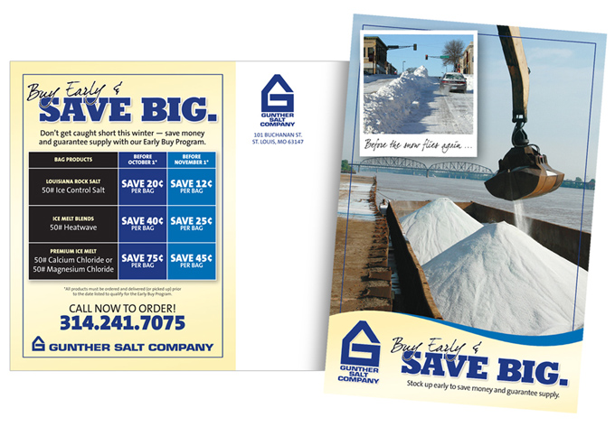 Gunther Salt Direct Mail Card